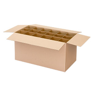 Kitchen / Crockery Carton with Dividers